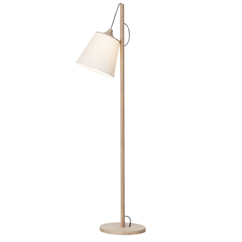 Pull Floor Lamp Oak/White [주문 후 1개월 소요]