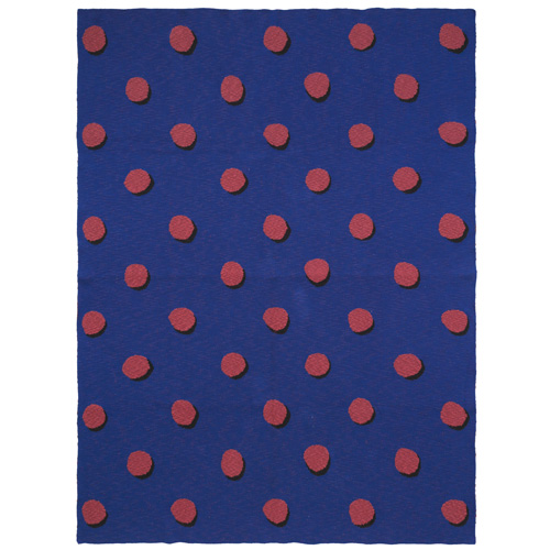Double Dot Blanket Blue