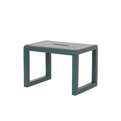Little Architect Stool Dark Green