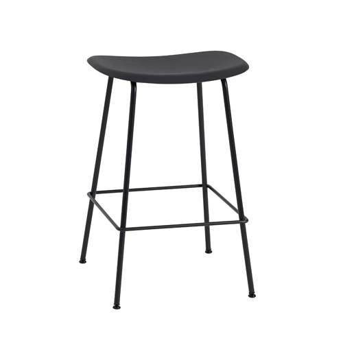 Fiber Bar Stool Tube Base H65cm Plastic