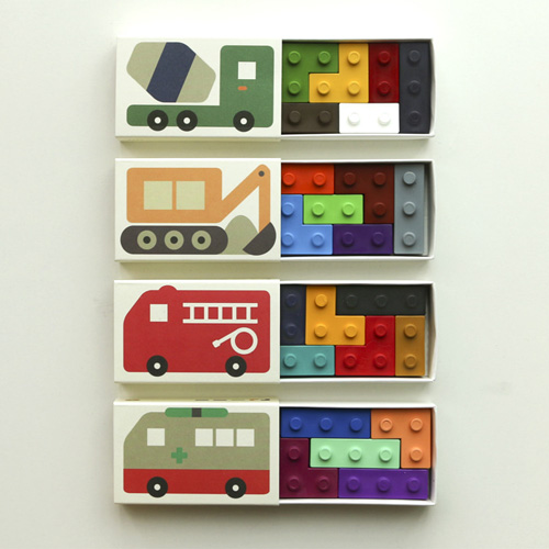 Pocket Crayon Block Car2 Set