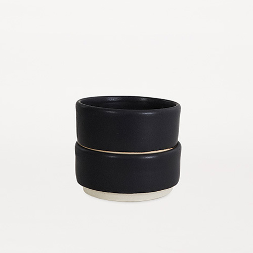 Otto Bowls Black M Set of 2 (30% sale)
