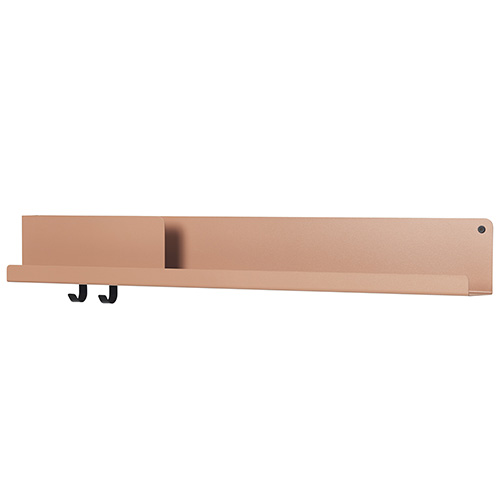 Folded Shelves Large Light Terracotta