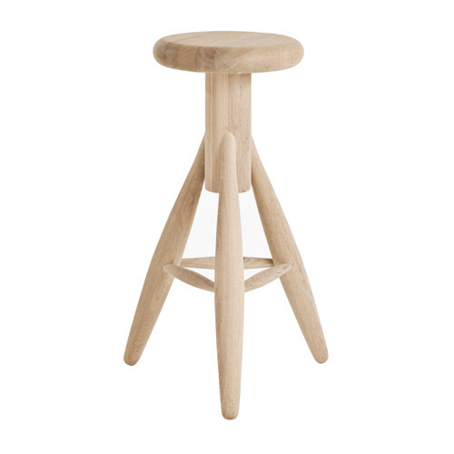 Rocket Bar Stool Oak