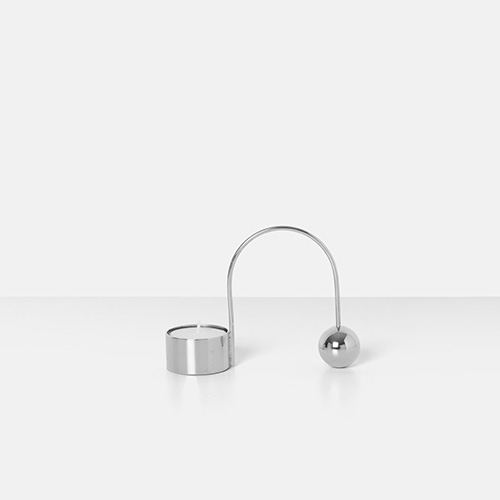 Balance Tealight Holder Chrome