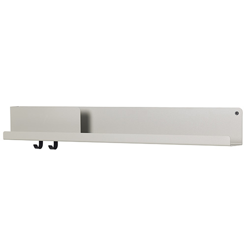 Folded Shelves Large Grey