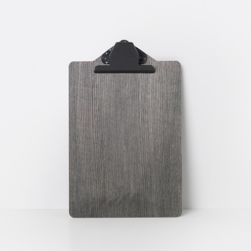 Clipboard A5 Stained Black