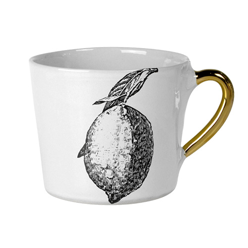 Alice Medium Coffee Cup Glam Lemon