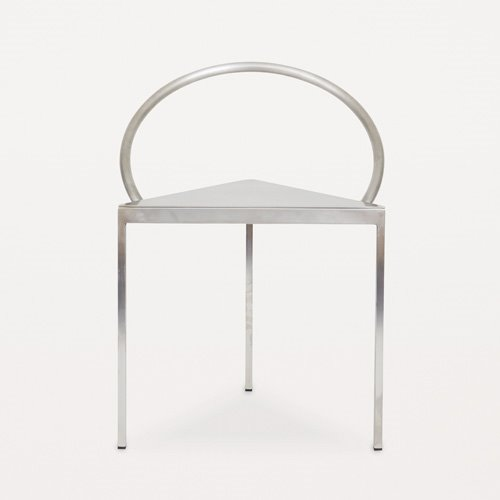 Triangolo Chair Steel
