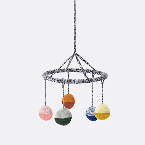 Ball Knitted Hanging Mobile