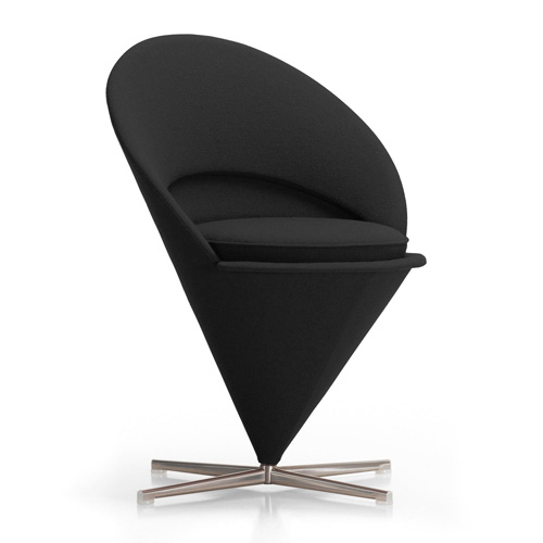 Cone Chair Black