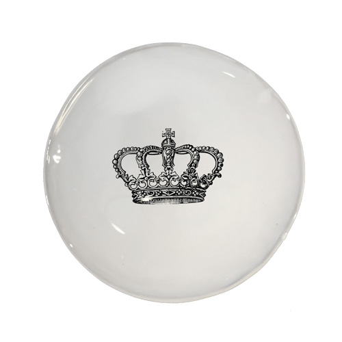 Souvenir Breakfast Plate Crown