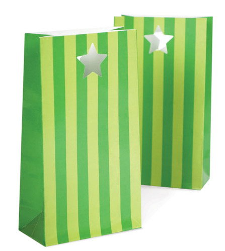 Party Bags Apple Green [1+1]
