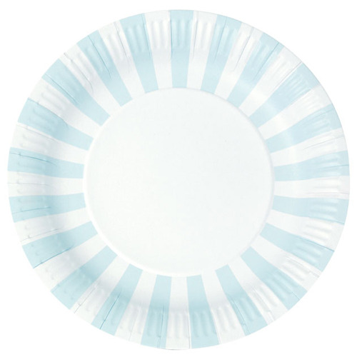 Paper Plates Powder Blue [1+1]