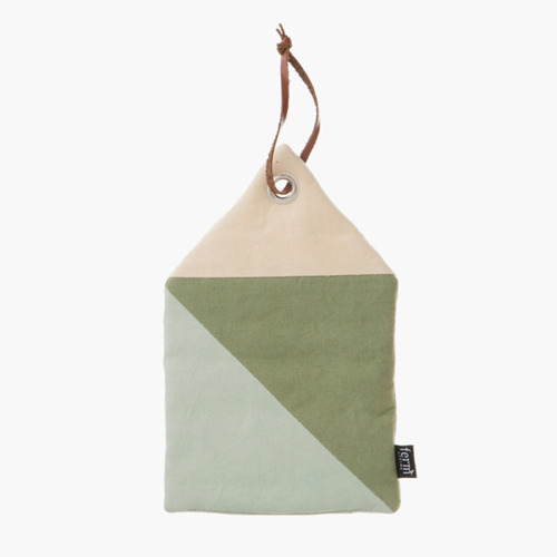 House Potholder - mint