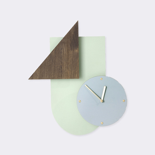 Wall Wonder Clock - Mint