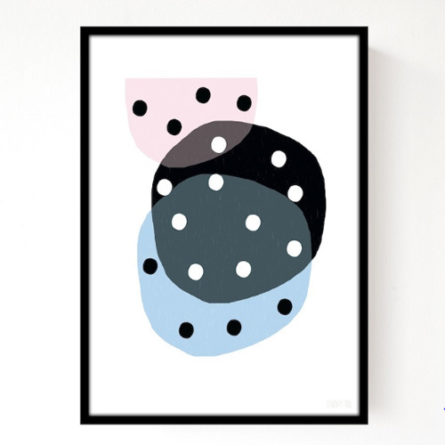 A3 Dotty Circles (30% sale)