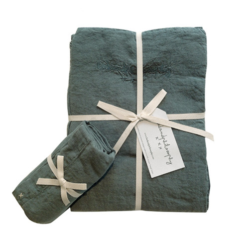 Nolita duvet Set Single Mineral[단추형]