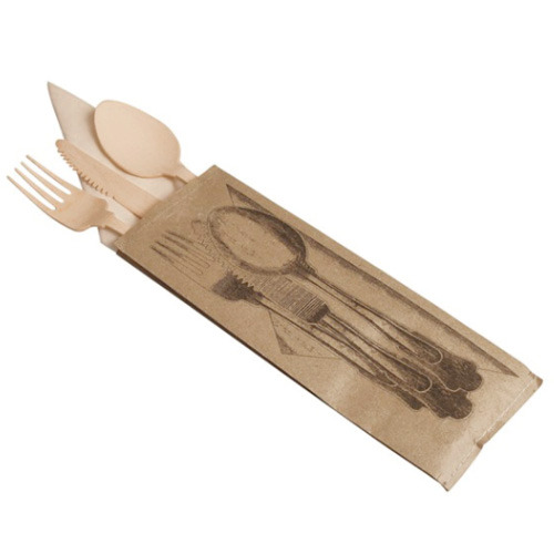 Tablee cutlery and napkin for one person