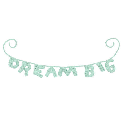 Dream Big Word Chain (50% sale)