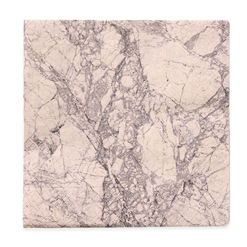 Marble Napkins Rose