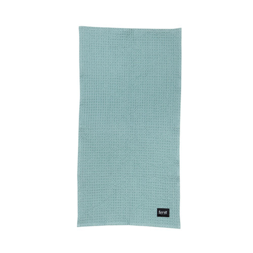 Organic Hand Towel Dusty Blue  (30% sale)