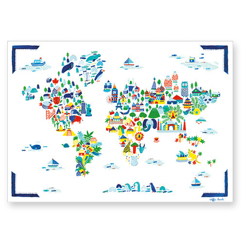 Fine Little World Poster (30% sale)
