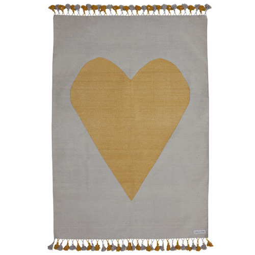 My Golden Heart Rug