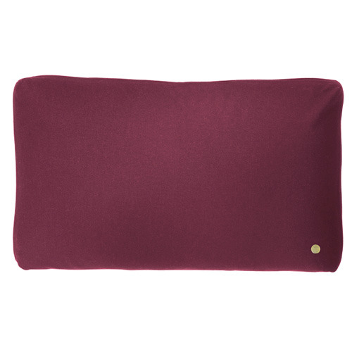 Wool Cushion Bordeaux (30% sale)