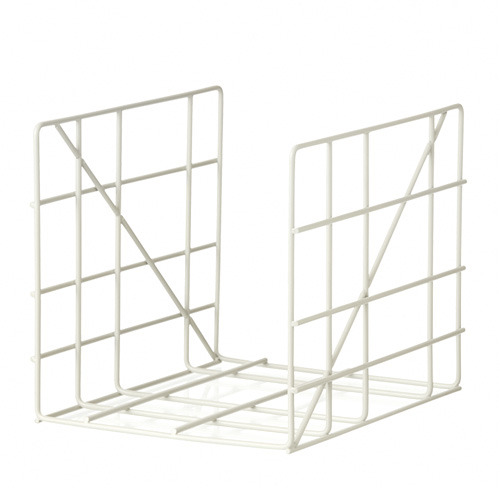 Square Magazine Holder Grey