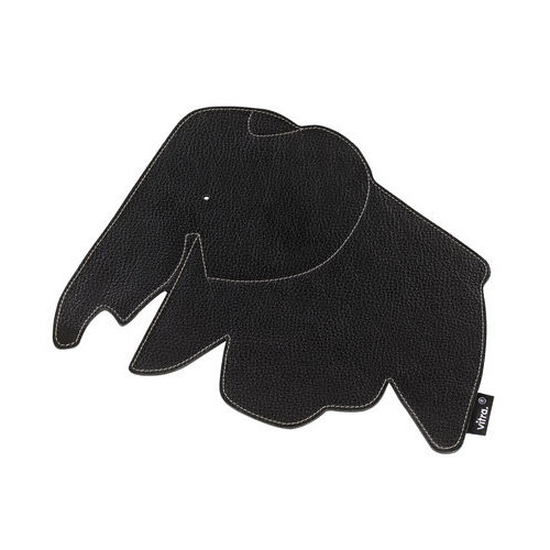Elephant Mouse Pad Nero