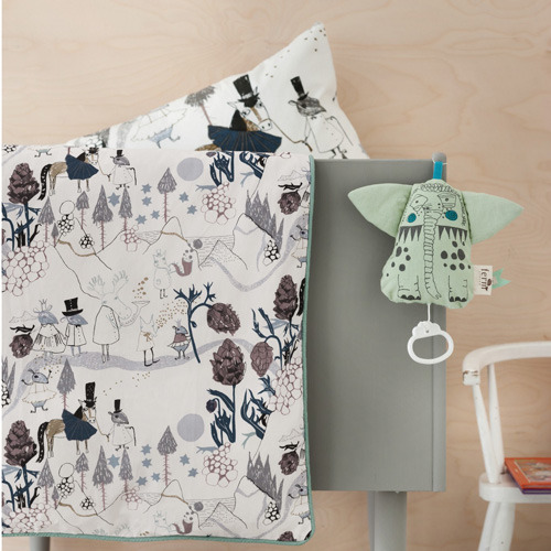 Mountain Friends Bedding Baby (30% sale)
