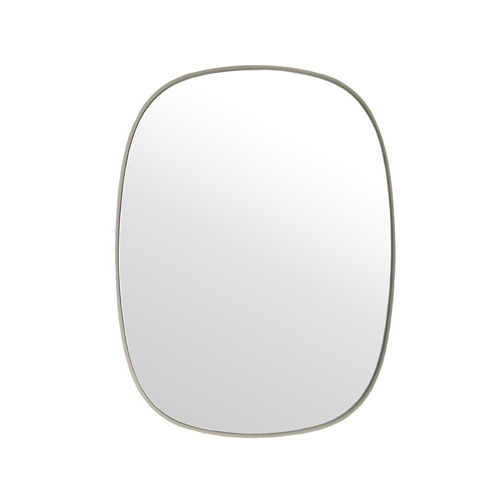 Framed Mirror Grey Small   [주문 후 3개월 소요]