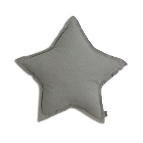 Star Cushion Silver Grey Small