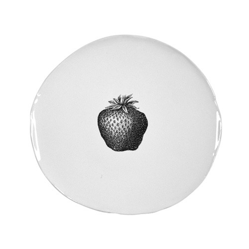 Souvenir Breakfast Plate Strawberry