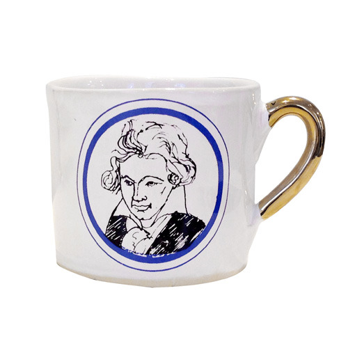 Alice Medium Coffee Cup Ludwig Van Beethoven
