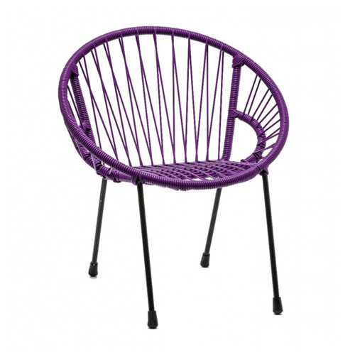 Tica Kid Armchair Purple