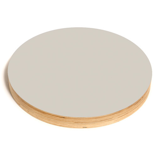 Round Noteboard 50cm Grey