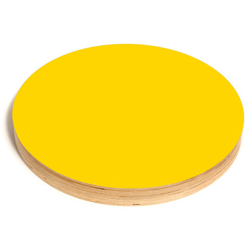 Round Noteboard 50cm Yellow