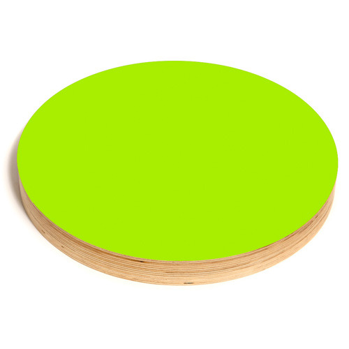 Round Noteboard 50cm Lime