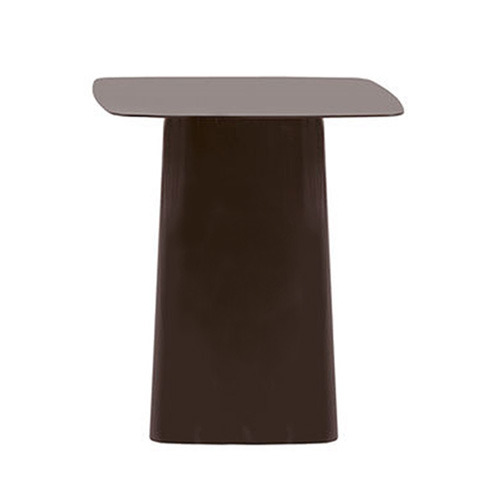 Metal Side Tables Medium Chocolate