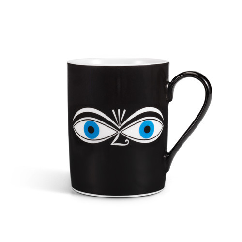 Coffee Mug Eyes Blue