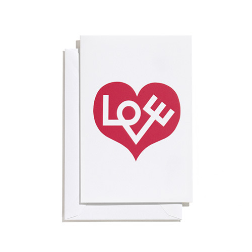 Greeting Card Medium Love Heart