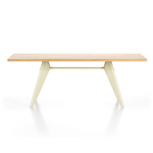 EM Table Solid Natural Oak Top