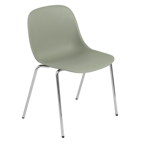 Fiber Side Chair A-base Dusty Green
