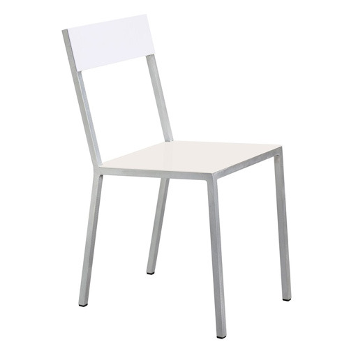 Alu Chair Ivory/White