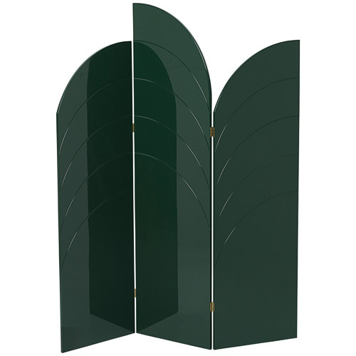 Unfold Room Divider Dark Green