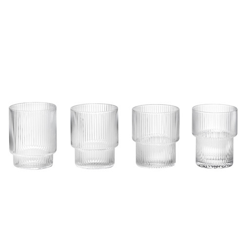 Ripple Glass Set of 4