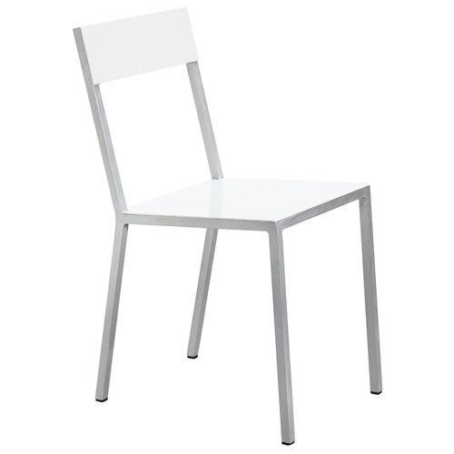 Alu Chair White/White