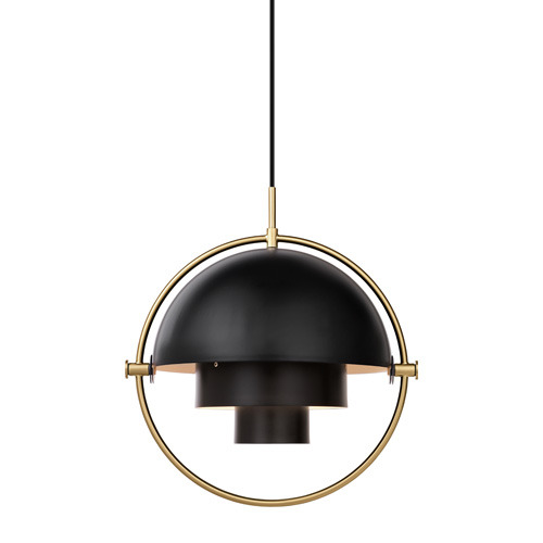 Multi-Lite Pendant Brass base/Charcoal Black  재고문의